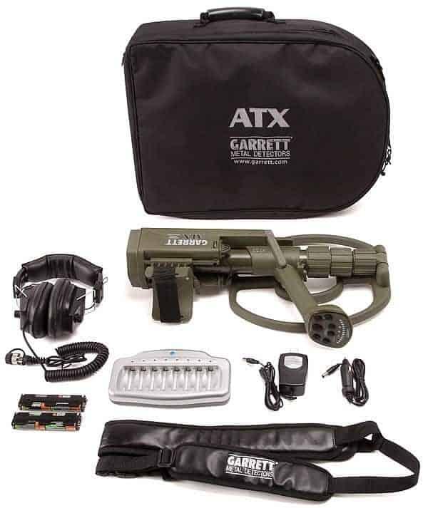 Metalldetektor Garrett ATX Basis Paket