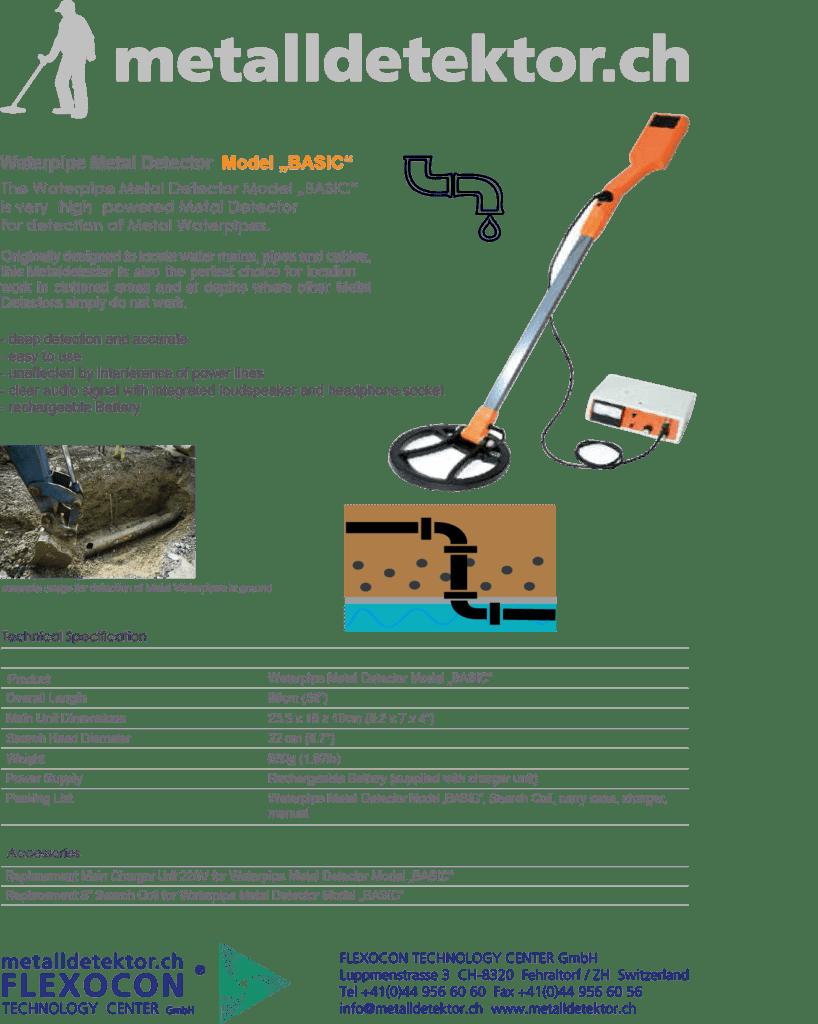 Metalldetektor Anwendung für Bau und Unterhalt