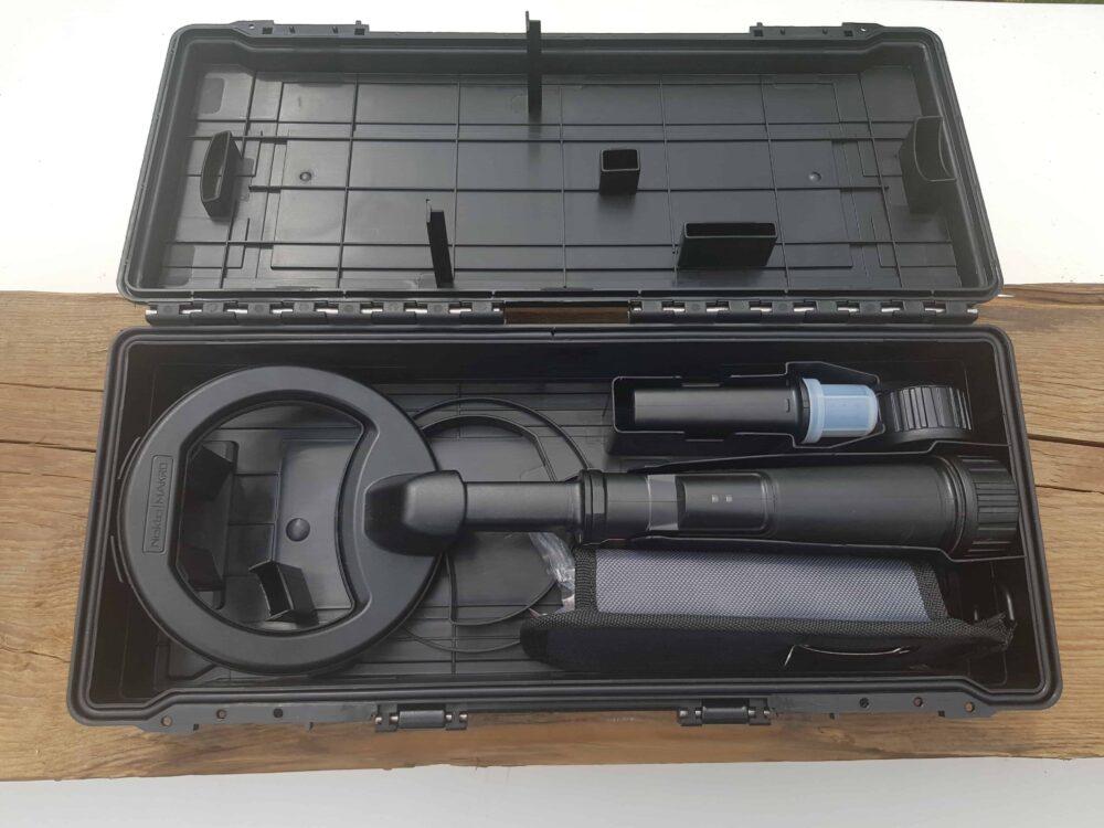Metalldetektor Pi 3kHz wasserdicht 60m Tauchtiefe Farbe schwarz