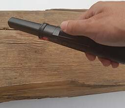 Metalldetektor Pinpointer zur Nagellokalisation Holzbalken Nailfinder Fundlokalisation Nageldetektor Pi 3kHz Farbe schwarz